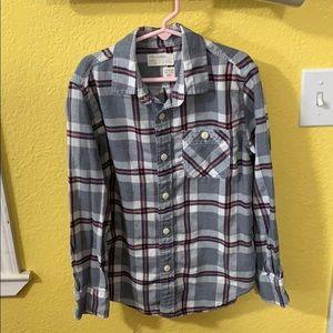 Crewcuts Girls Flannel Shirt